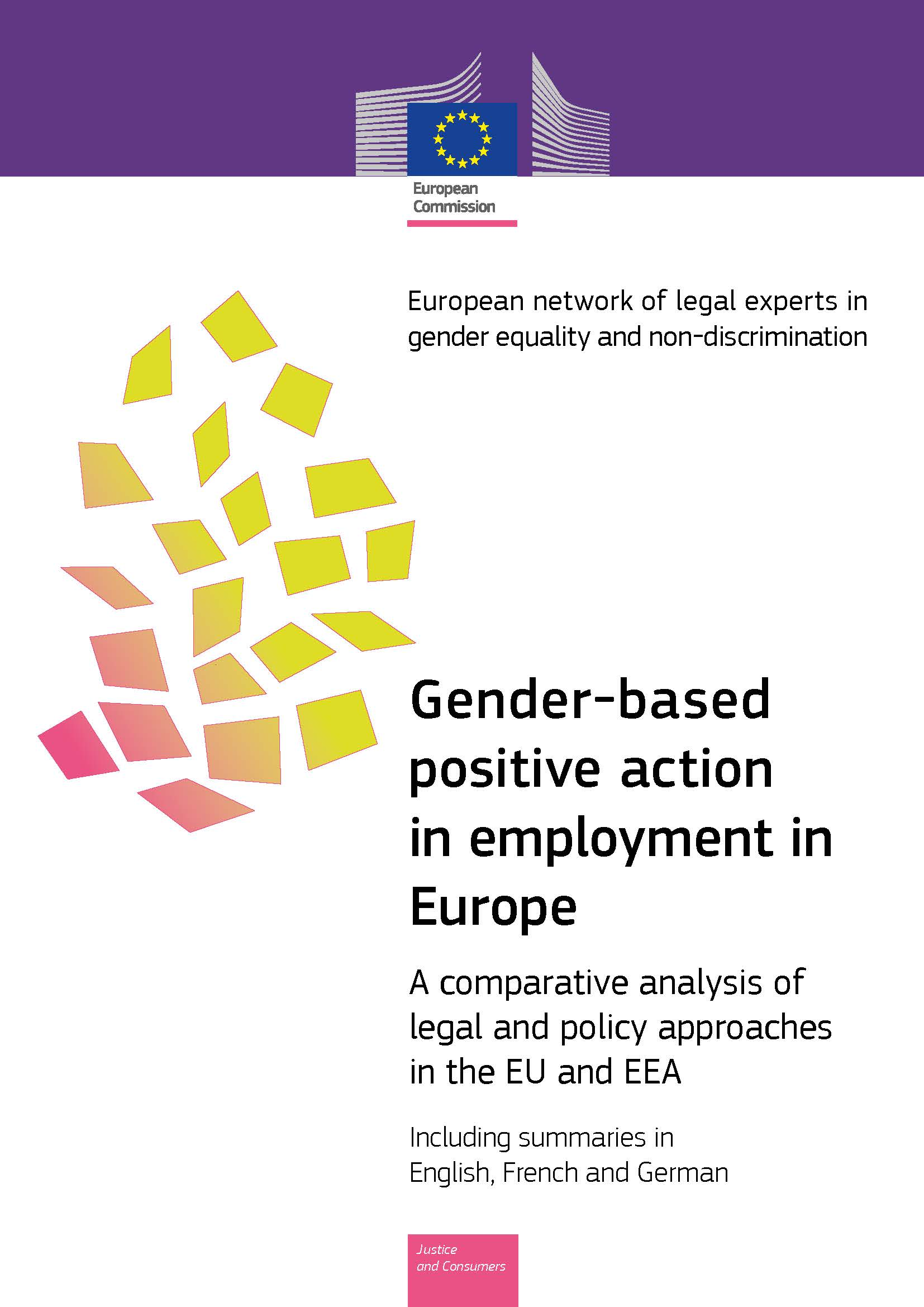 Gender-based positive action in employment in Europe (PDF 1,9 MB)