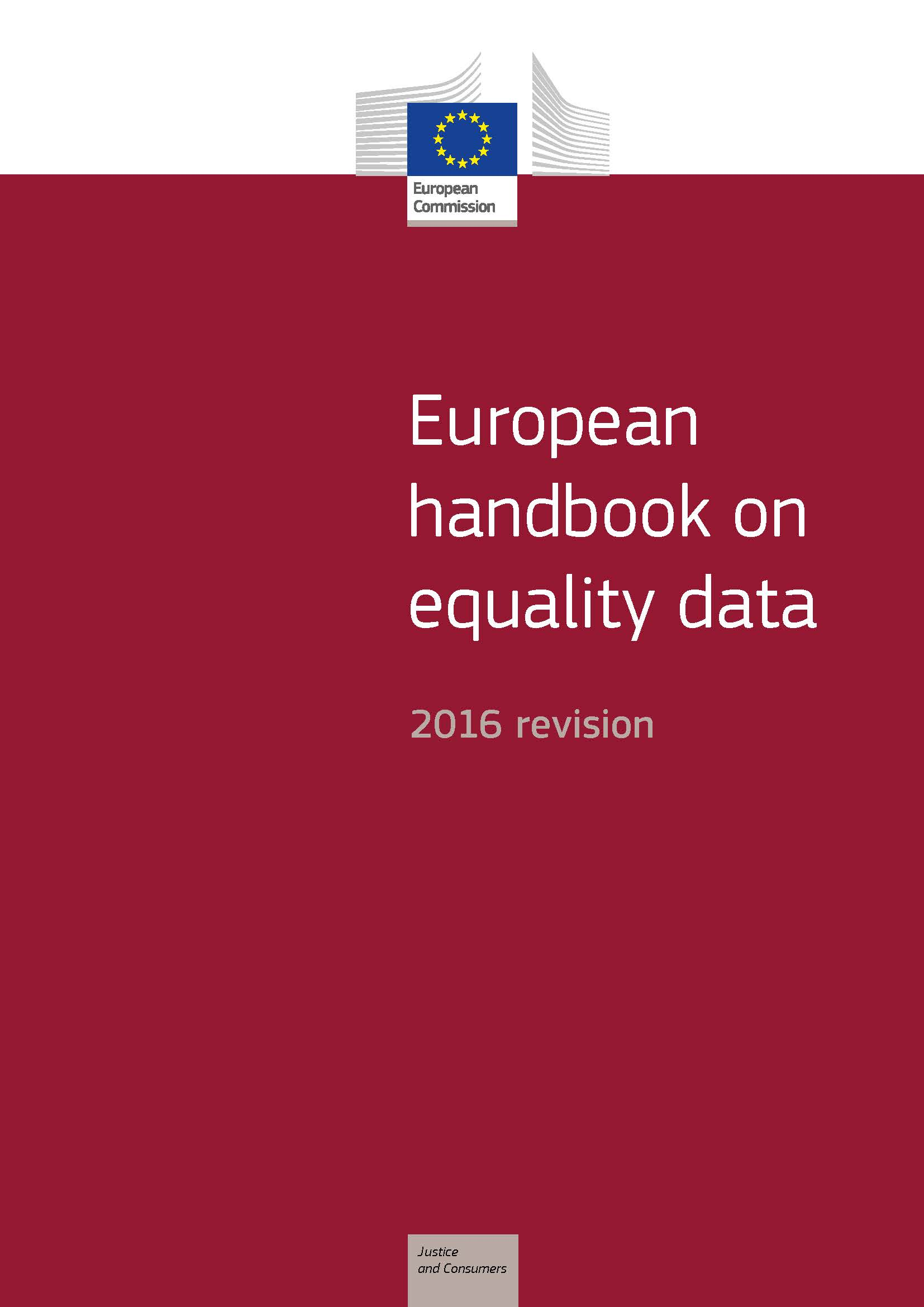 European handbook on equality data - 2016 revision (PDF 995 kB)