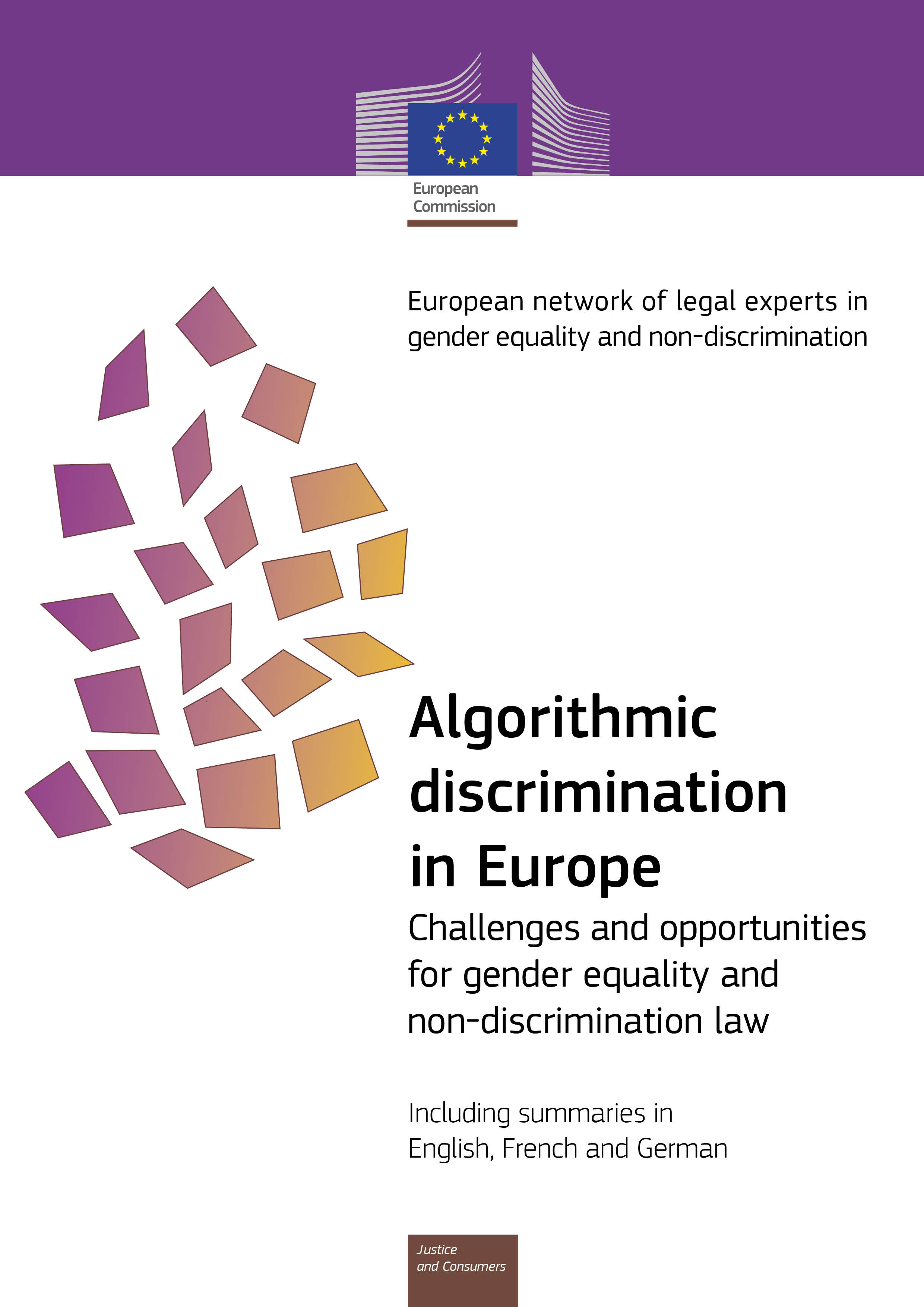 Algorithmic discrimination in Europe (PDF 1,98 MB)
