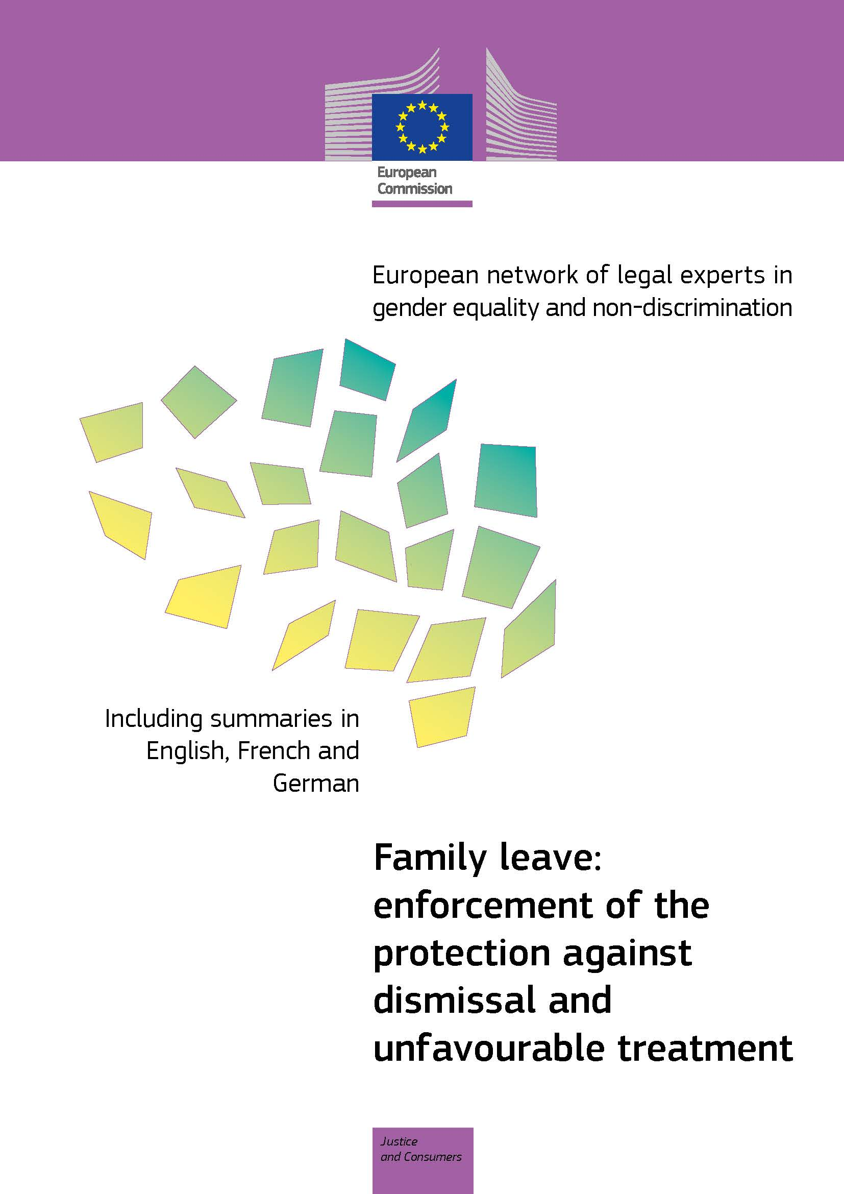 Family leave: enforcement of the protection against dismissal and unfavourable treatment (PDF 962 kB)
