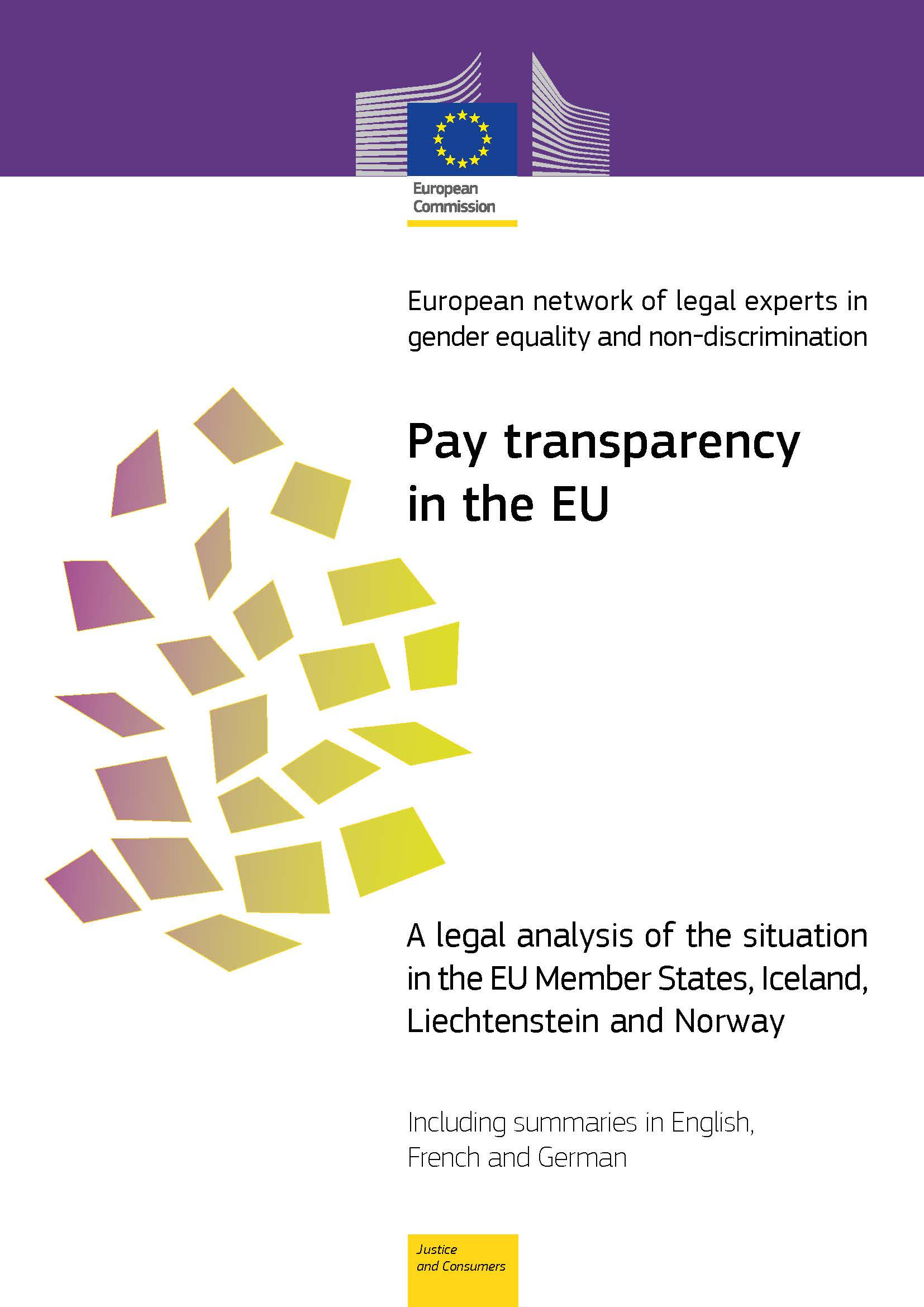 Pay transparency in the EU (PDF 693 kB)