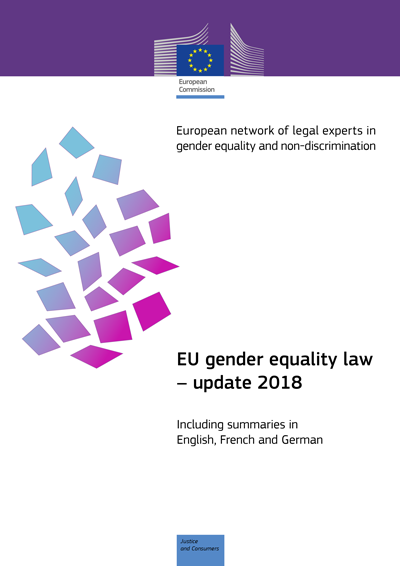 EU gender equality law – update 2018 (PDF 444 kB)