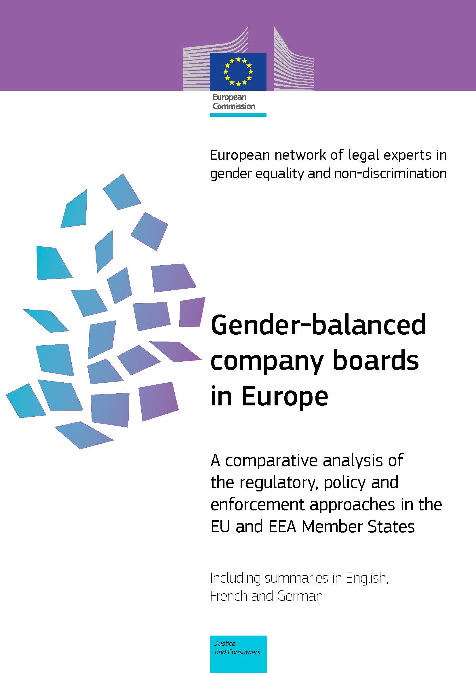 Gender-balanced company boards in Europe (PDF 1,68 MB)