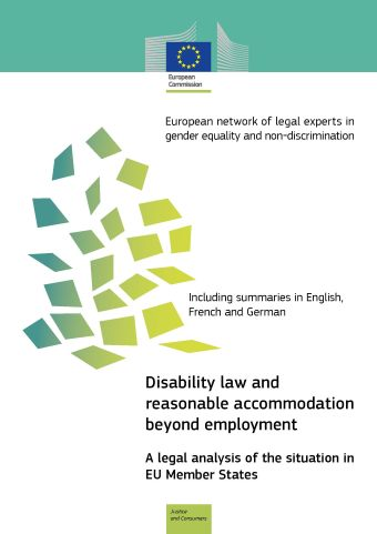 Disability law and reasonable accommodation beyond employment (PDF 1,10 MB)