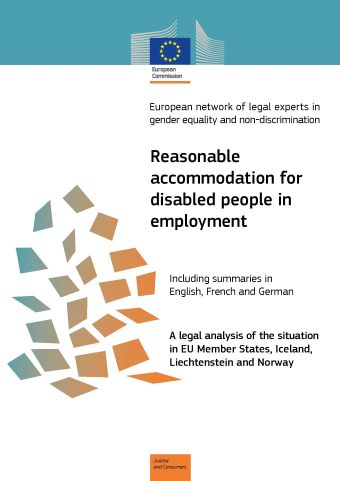 Reasonable accommodation for disabled people in employment (PDF 1,01 MB)