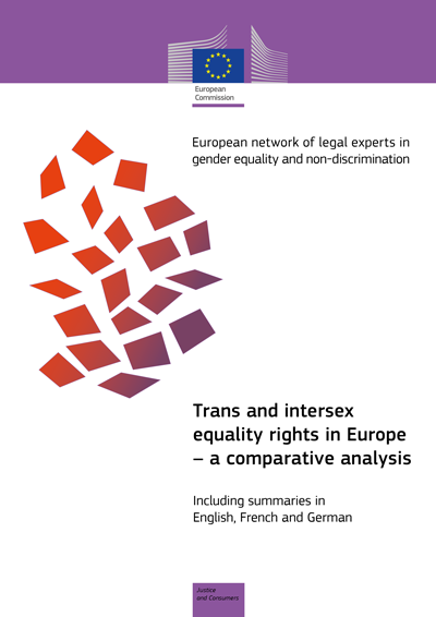 Trans and intersex equality rights in Europe – a comparative analysis (PDF 732 kB)